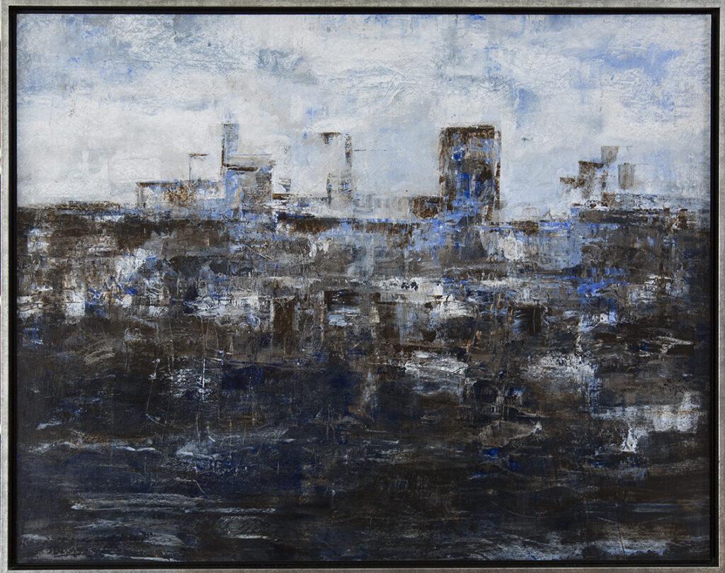 Marion Mencke eigen werk acryl