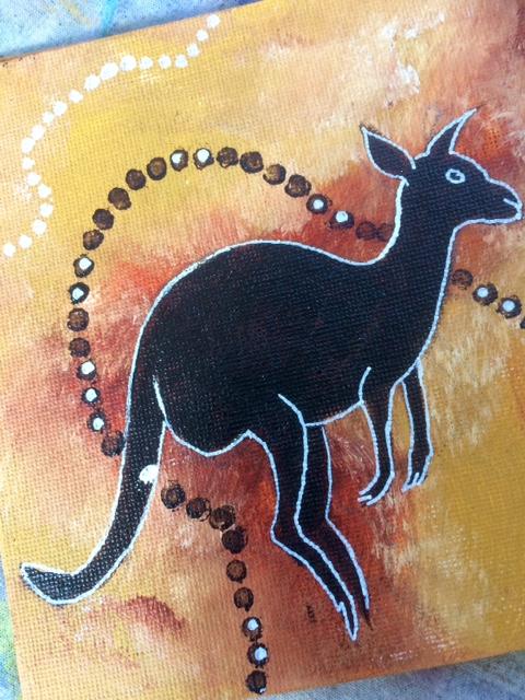 Marion Mencke onderwijsprojecten aboriginal art