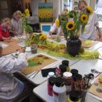 Onderwijsproject Schilderen als van Gogh
