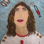 Portretschilderen een van de onderwijsprojecten van Atelier Marion Mencke