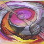 Workshop Kandinsky bij Atelier Marion Mencke