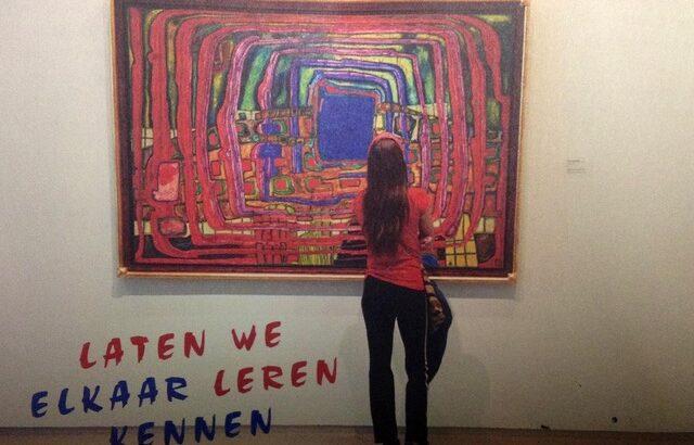 Filosoferen over kunst